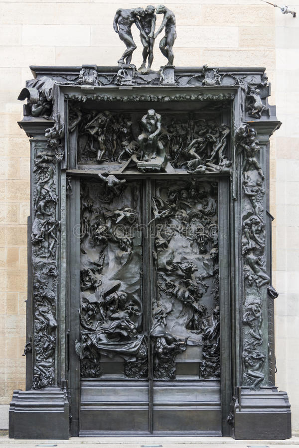 De Poorten van Hel Zürich stock afbeelding
