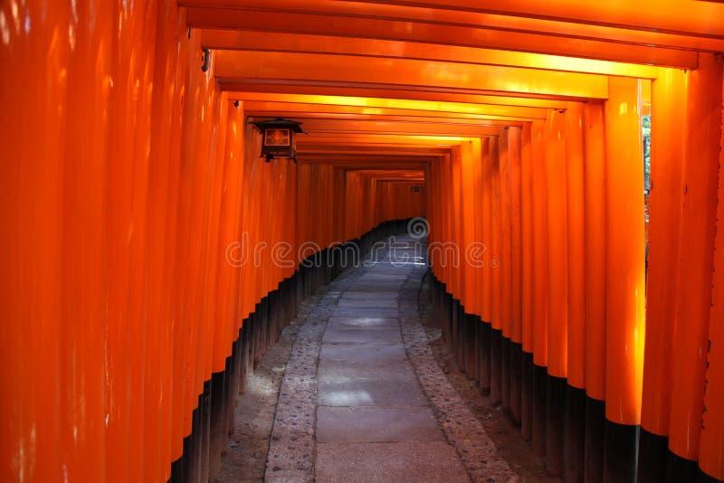 De Poorten van Torii - Kyoto Japan royalty-vrije stock afbeelding