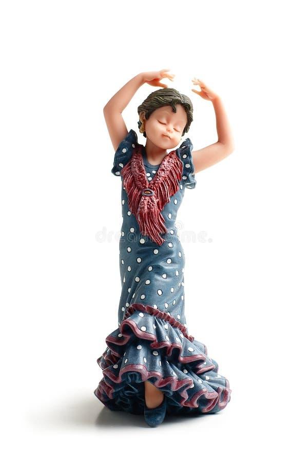 De pop van het flamenco royalty-vrije stock afbeelding