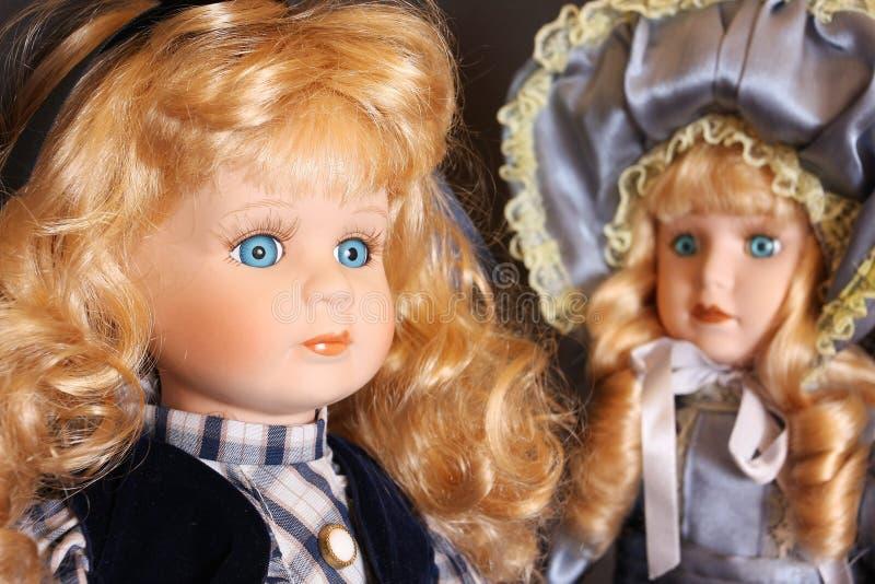 De poppen van het porselein stock foto's