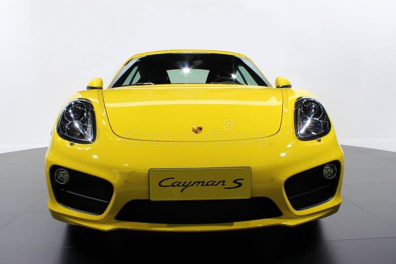 De Porsche-auto stock fotografie