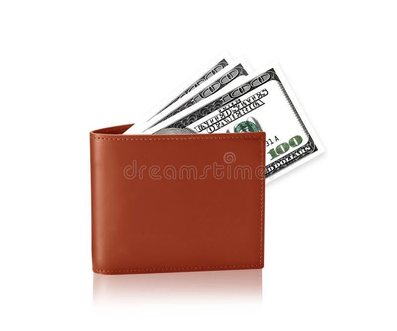 De Portefeuille van het geld royalty-vrije stock afbeelding