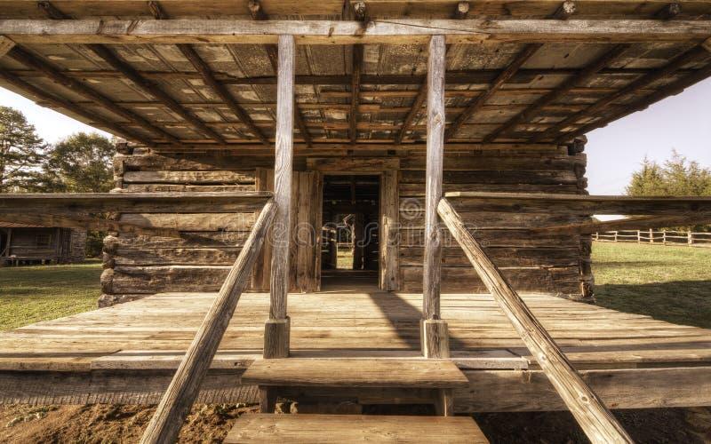 De Portiek van de cabine royalty-vrije stock fotografie