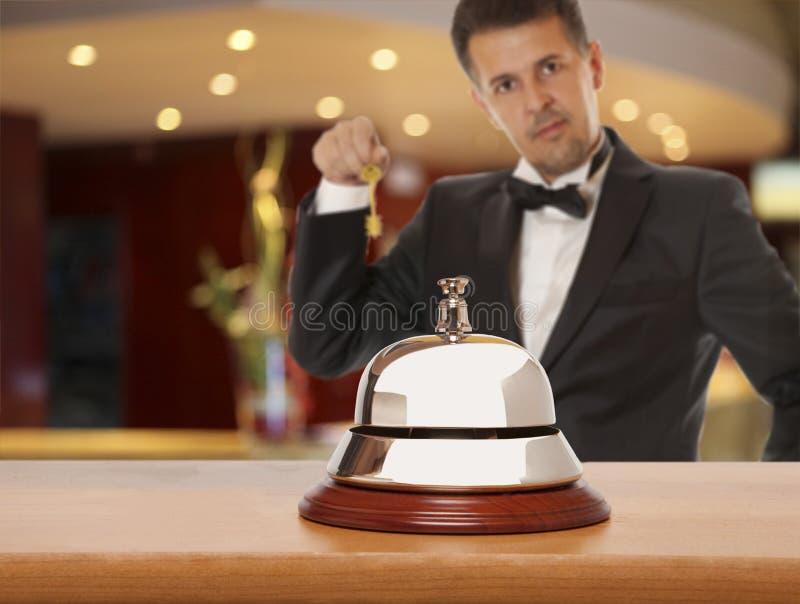 De Portier van het hotel royalty-vrije stock foto
