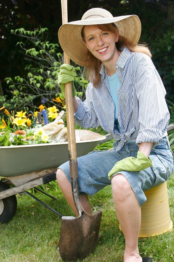 De portretten van de tuin stock foto