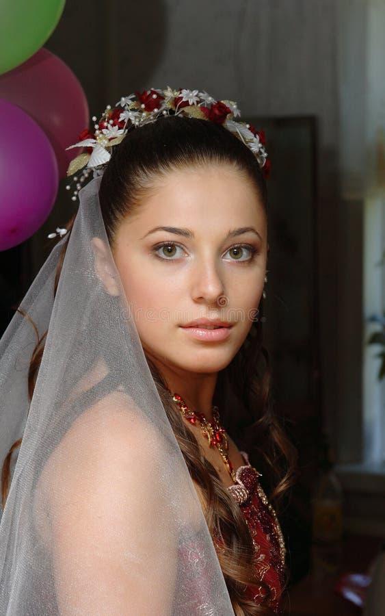 De Portretten van het huwelijk stock foto's