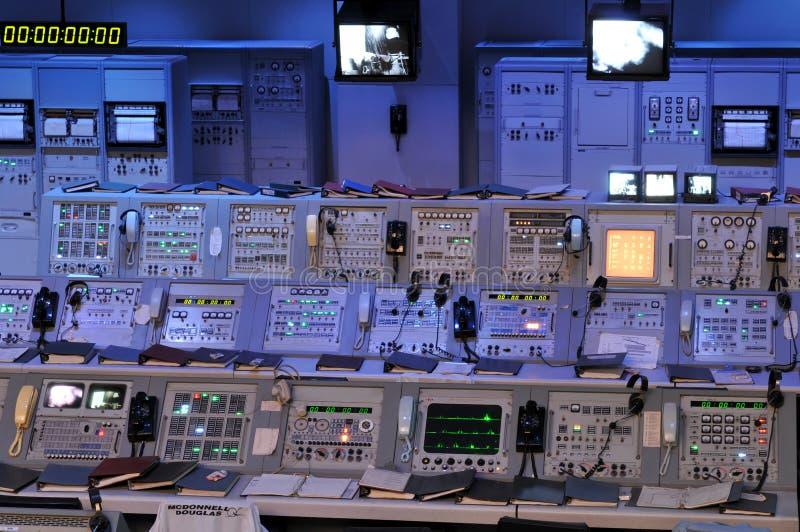 De Post van de Controle van NASA stock foto