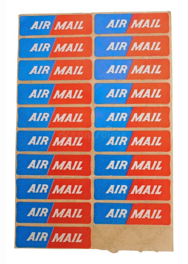 De post van de lucht stock afbeeldingen