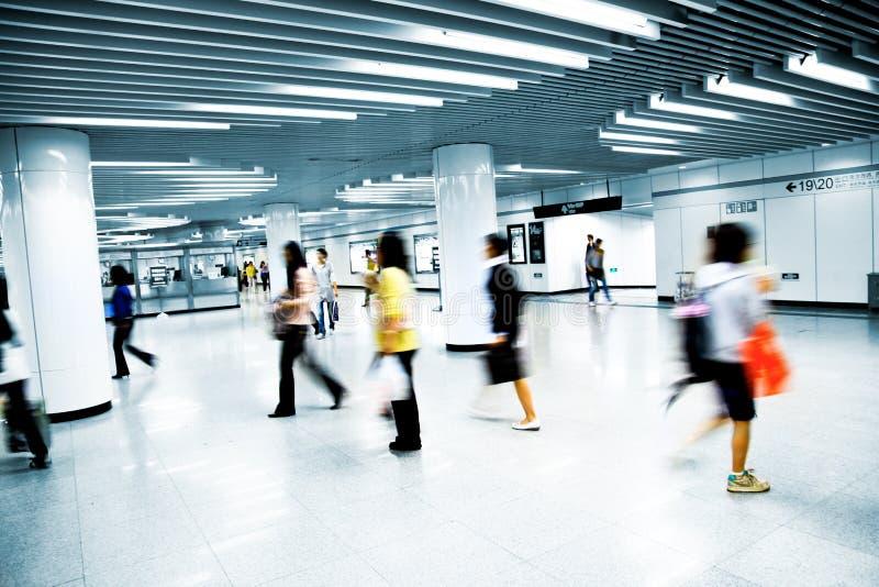 De post van de metro royalty-vrije stock foto