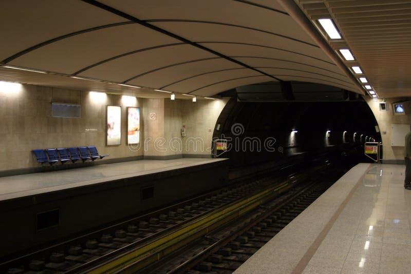 De Post Van De Metro Stock Foto