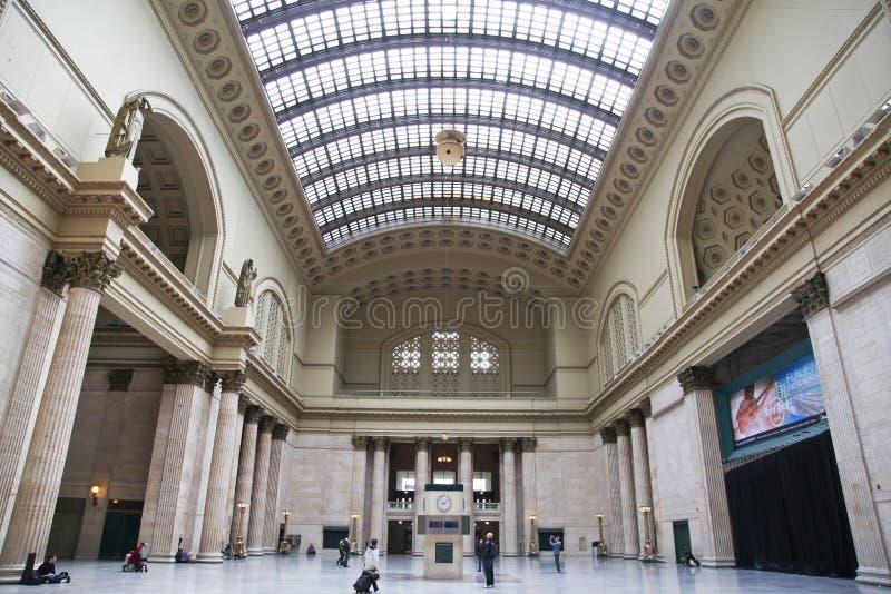 De Post van de Unie - Chicago, Illinois. stock afbeelding