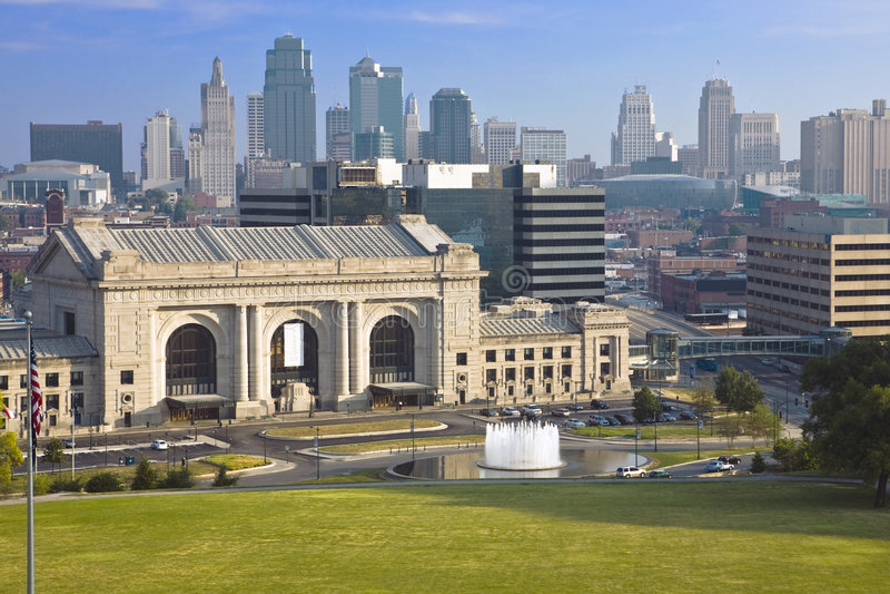 De Post van de Unie, de Stad van Kansas royalty-vrije stock foto