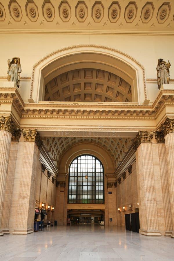 De post van de Unie van Chicago royalty-vrije stock afbeeldingen