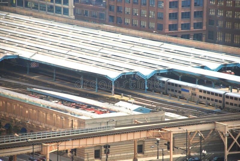 De Post van de Unie van Chicago stock foto's