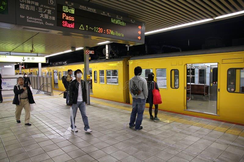 De Post van Himeji, Japan stock afbeeldingen