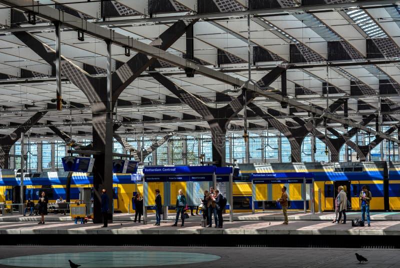 De post van Rotterdam royalty-vrije stock fotografie