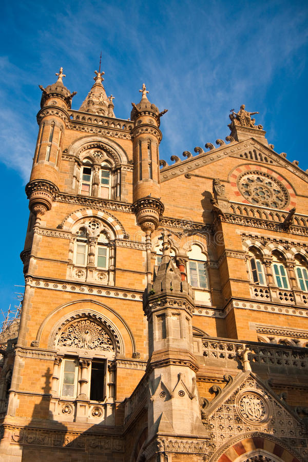 De Post van Shivaji van Chhatrapati in Mumbai stock afbeelding