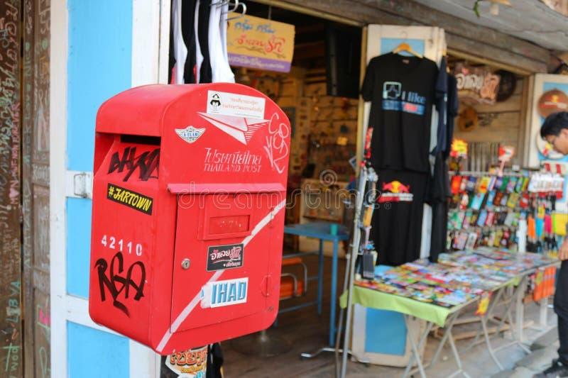 Download De Post van Thailand redactionele afbeelding. Afbeelding bestaande uit post - 54085065
