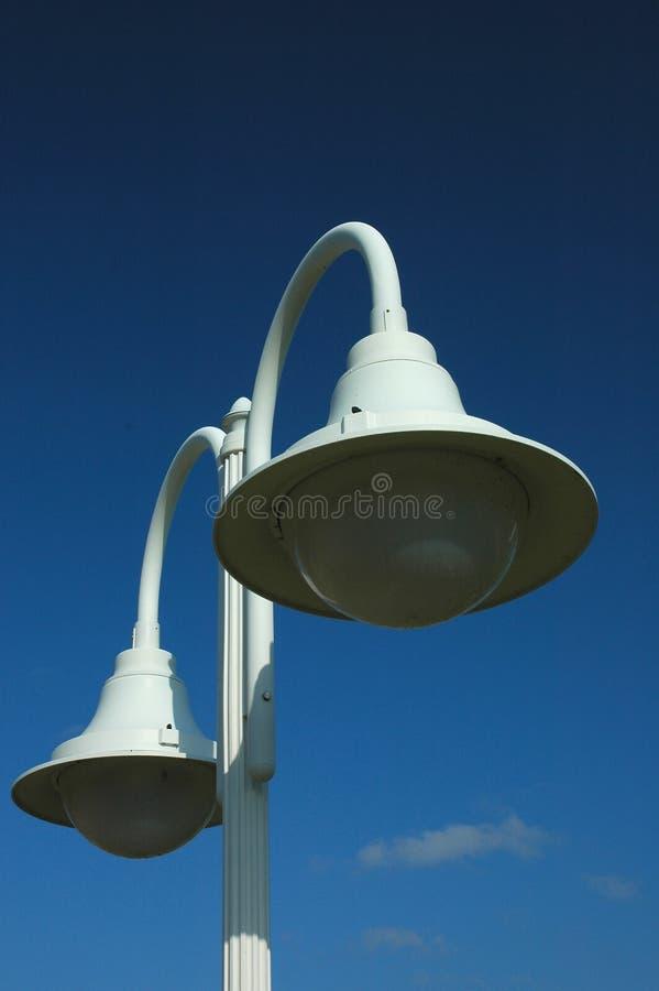 De posten van de lamp royalty-vrije stock afbeelding