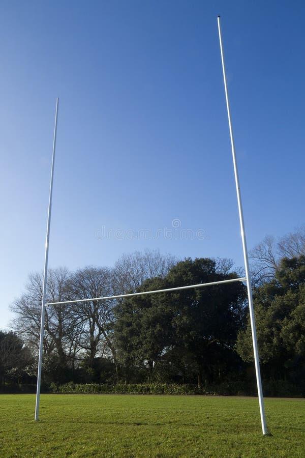 De posten van het rugby royalty-vrije stock foto's