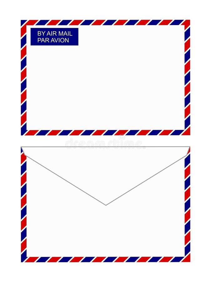 De postenvelop van de lucht vector illustratie