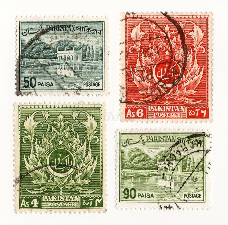 De postzegel van Pakistan 1960 stock afbeeldingen