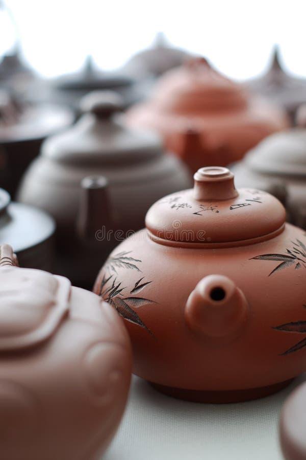 De Pot van de thee royalty-vrije stock fotografie