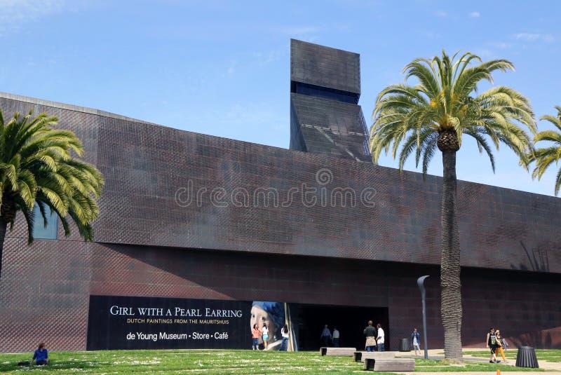 De Potomstwo Muzeum w San Fransisco zdjęcie royalty free