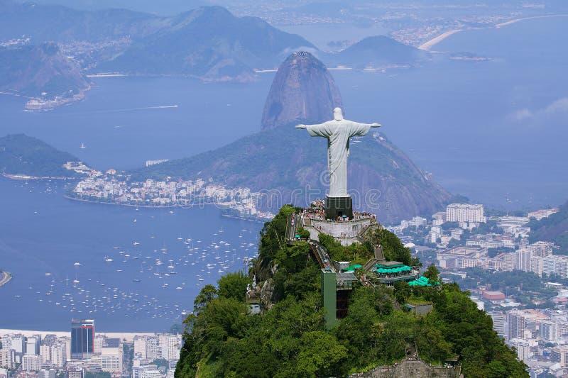 de powietrzny widok Janeiro Rio obrazy stock