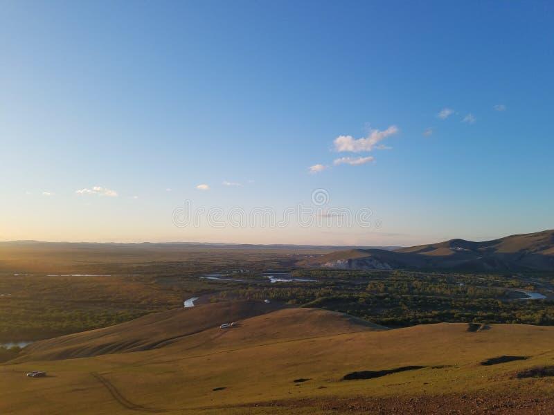 De Prairie van Hulunbuir stock fotografie