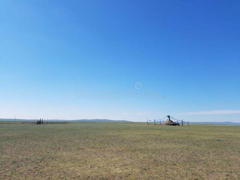 De Prairie van Hulunbuir royalty-vrije stock foto