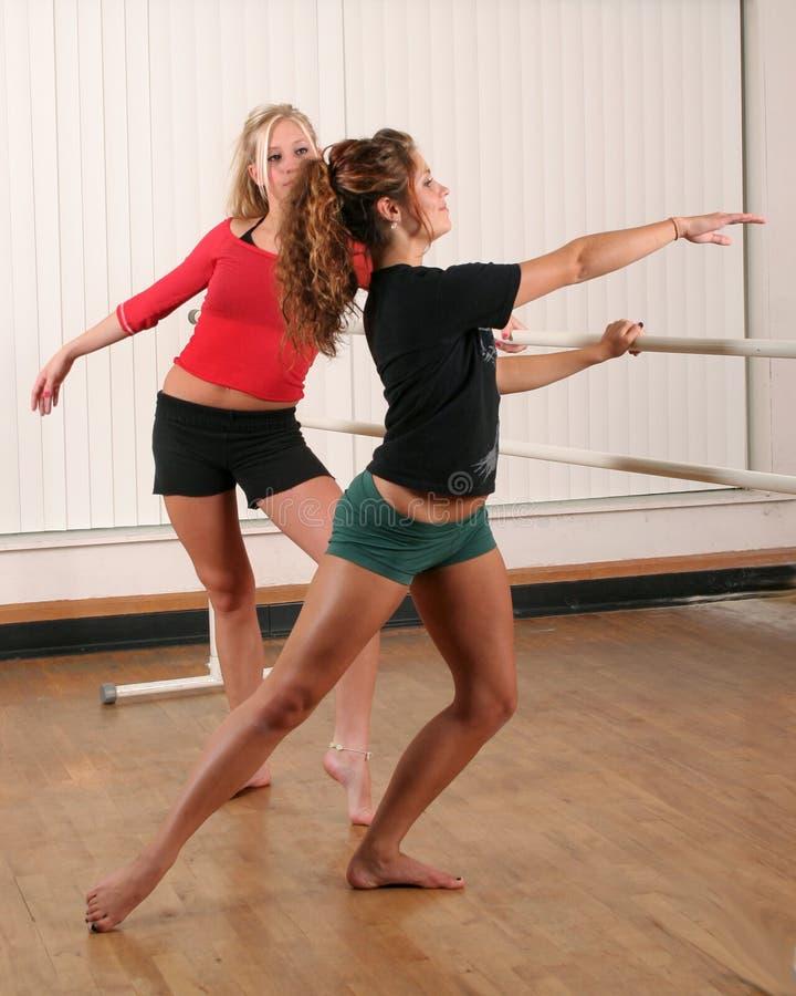 De praktijk van de dans stock fotografie