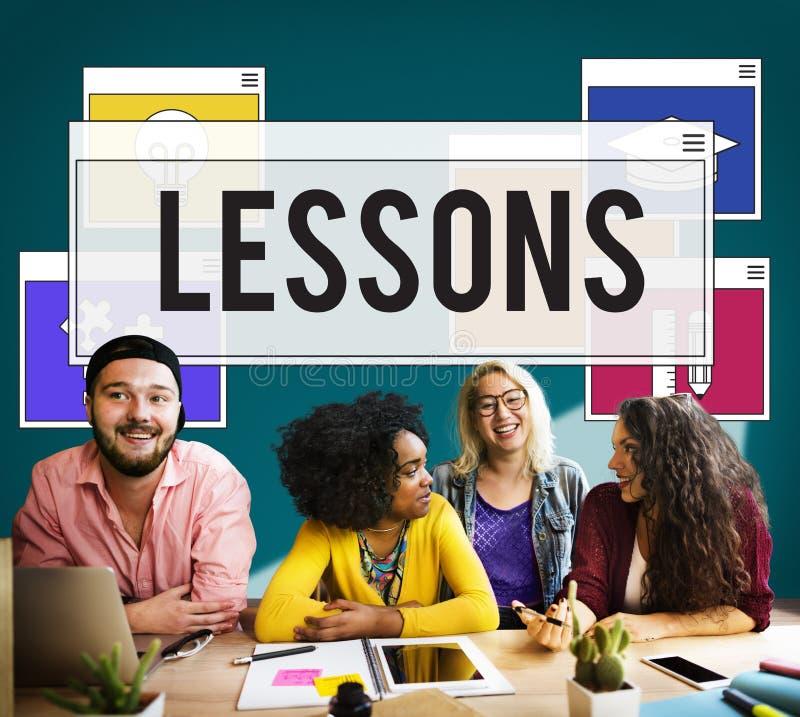 De Praktijkstudie van onderwijsvaardigheden het Leren Concept stock fotografie