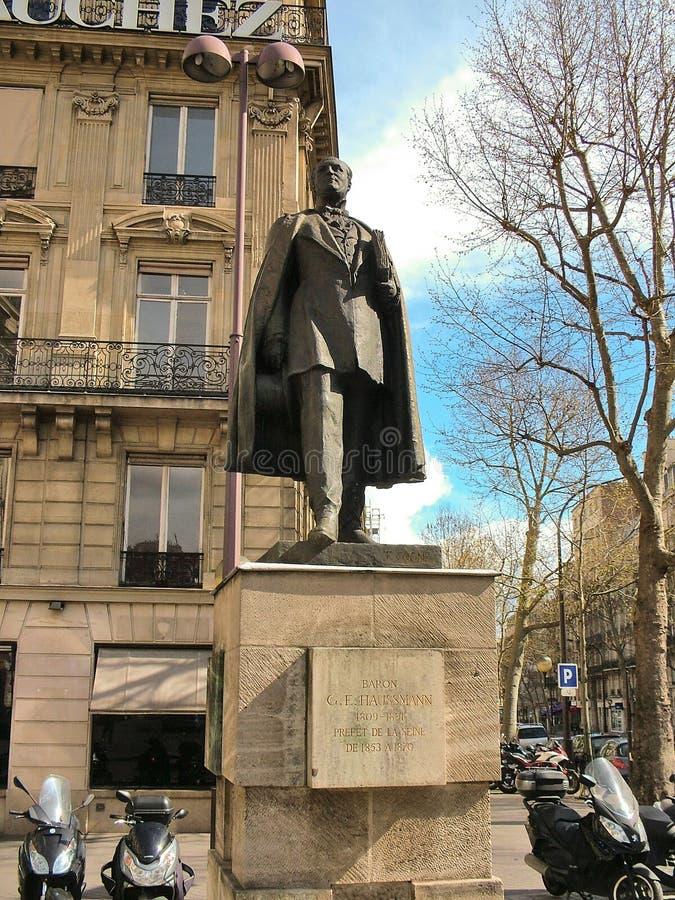 De Prefectuur van monumentenhaussmann Parijs stock foto's