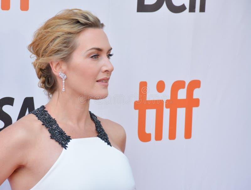 ` De première van Kate Winslet 2017 stock afbeeldingen