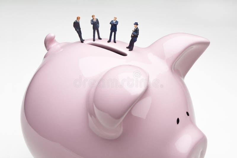 de premier rang de banquiers photographie stock libre de droits