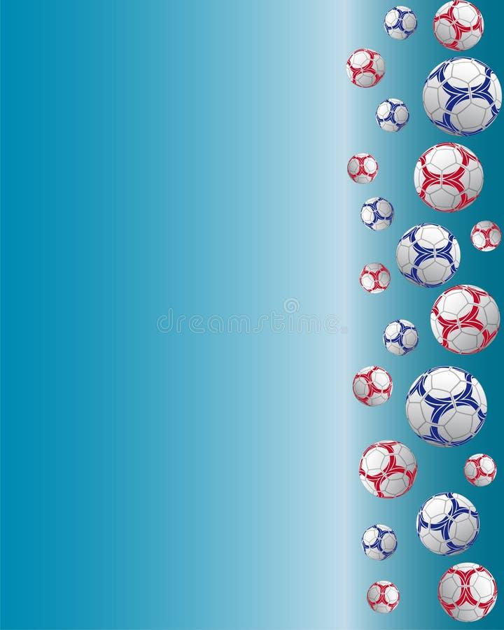 De prentbriefkaar van de sport royalty-vrije illustratie