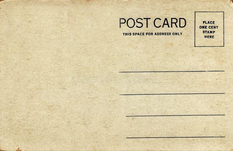 de Prentbriefkaar van jaren '20, Natuurlijke Toon royalty-vrije stock fotografie