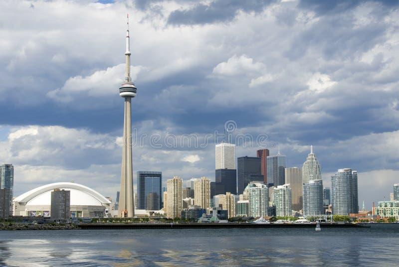De Prentbriefkaar van Toronto stock foto