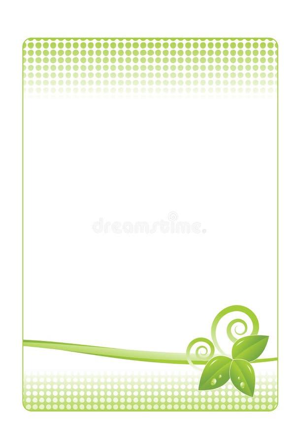 De prentbriefkaarontwerp van de lente stock illustratie