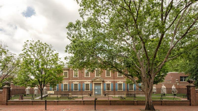 De presbyteriaanse Historische Maatschappij, Philadelphia, Pennsylvania royalty-vrije stock fotografie