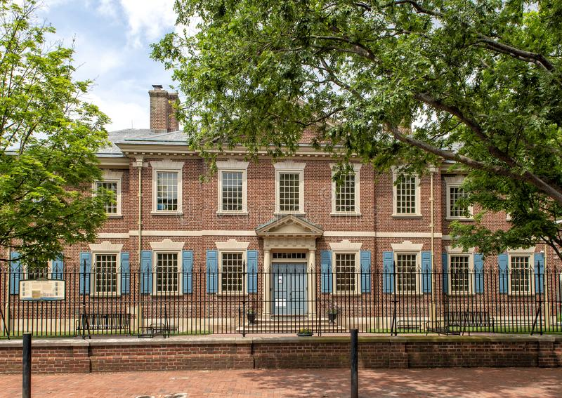 De presbyteriaanse Historische Maatschappij, Philadelphia, Pennsylvania stock foto's