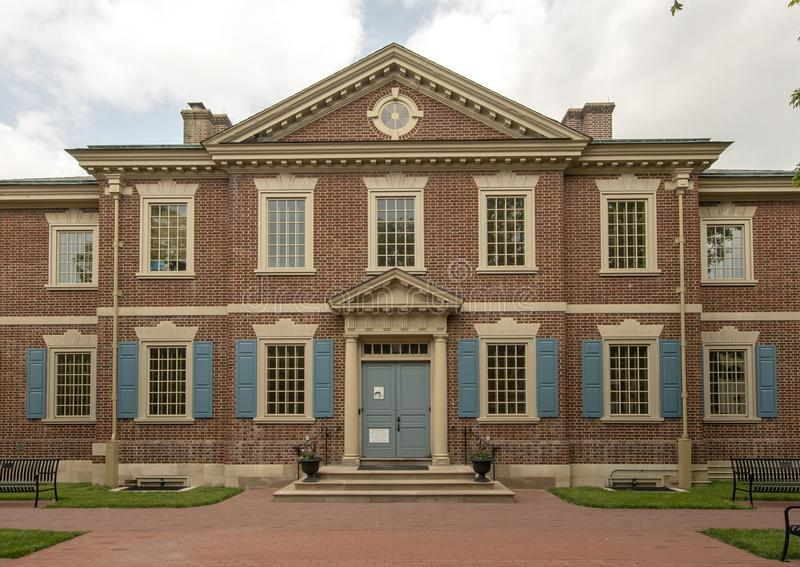 De presbyteriaanse Historische Maatschappij, Philadelphia, Pennsylvania royalty-vrije stock foto's