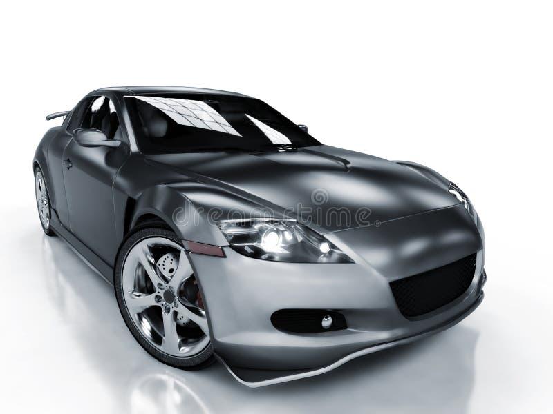De presentatie van de auto stock illustratie
