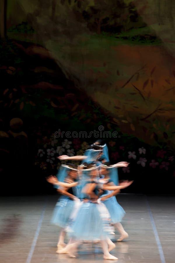 De Prestaties van het Ballet van Rayanti van Ade royalty-vrije stock afbeeldingen