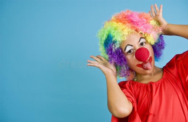 De Pret van de clown stock afbeelding