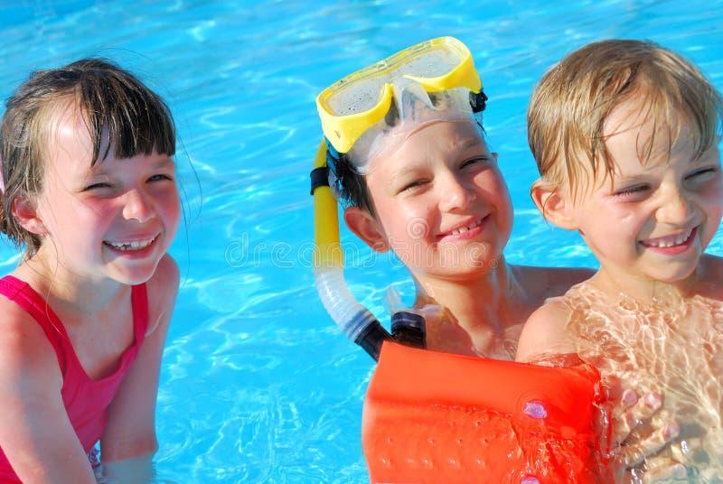 De pret van de pool stock afbeelding