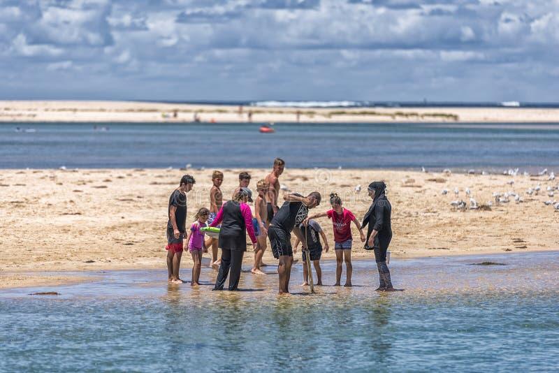 De pret van de familie De Ingang, NSW royalty-vrije stock fotografie