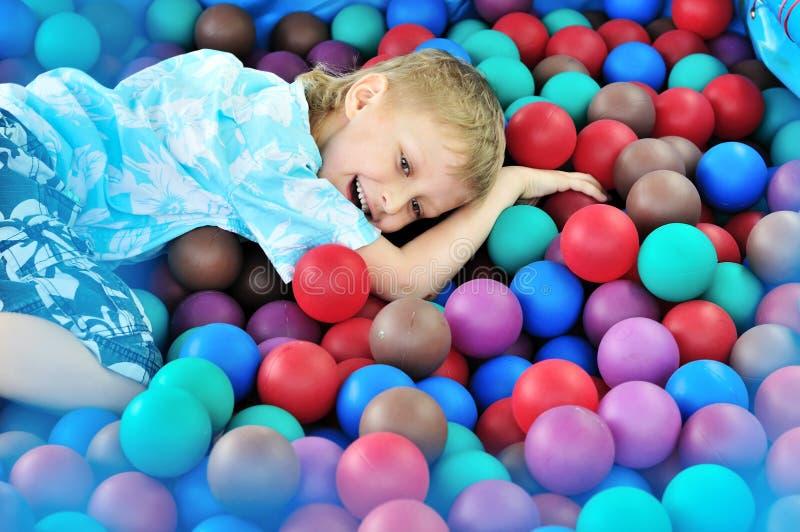 De pret van gelukkige kinderen royalty-vrije stock foto