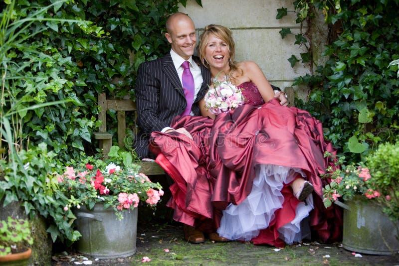 De pret van het huwelijk stock foto